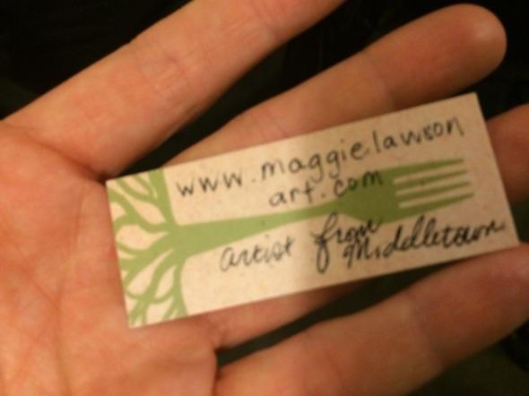 www.maggielawsonart.com artist from Middletown